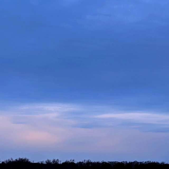 Blue and Orange Twilight