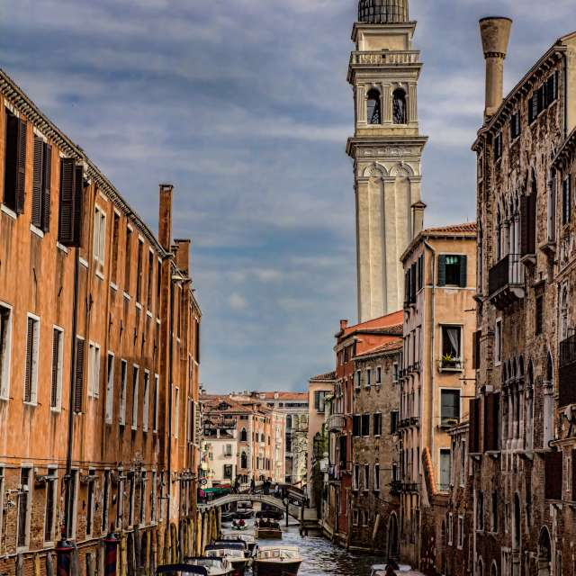 Scattered Clouds, Venice, IT