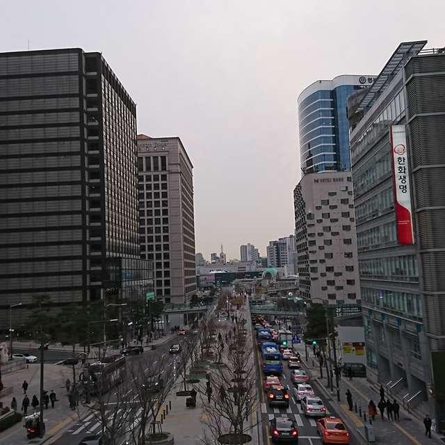 会賢からソウル駅まで