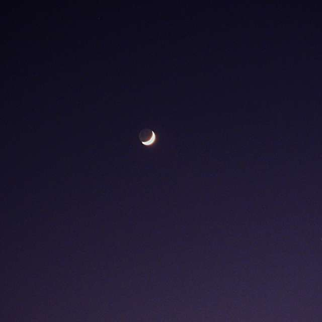 Moon and Venus...