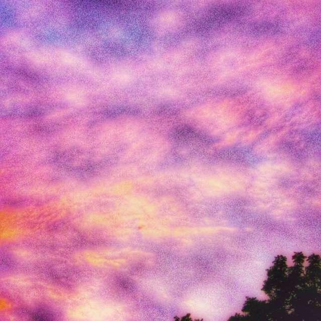 Tie-dyed Looking Sky