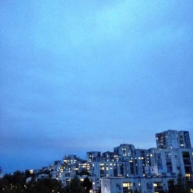 Skyline of New Belgrade