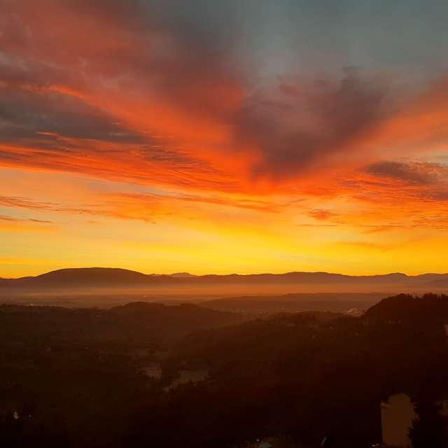 Sunset weather sun
