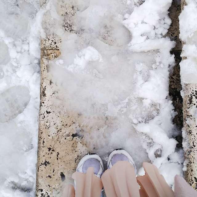 ローマの雪