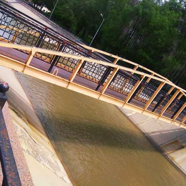 Мост через Реку Есентай