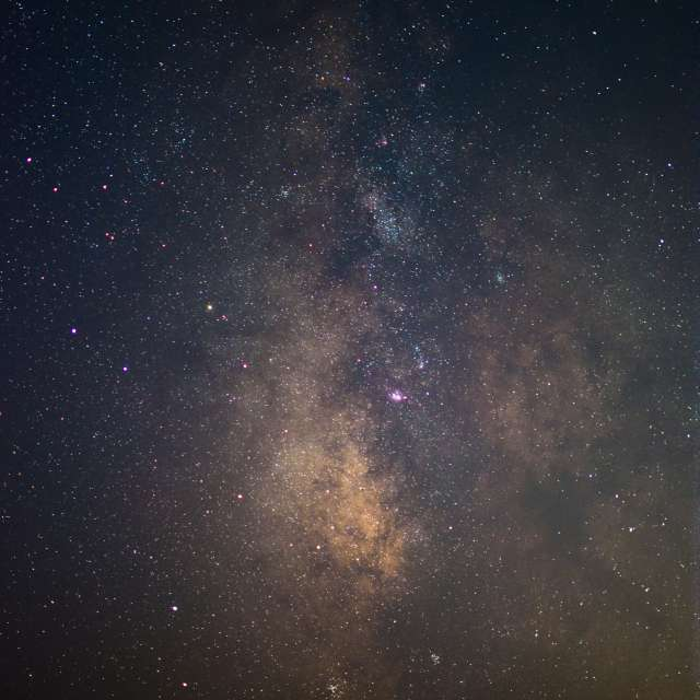 Milky way, stars, galaxy
