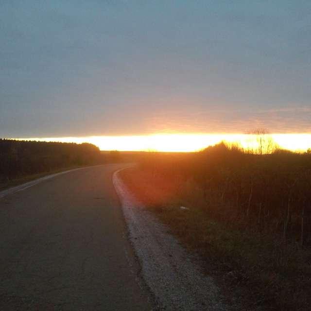 утро восход