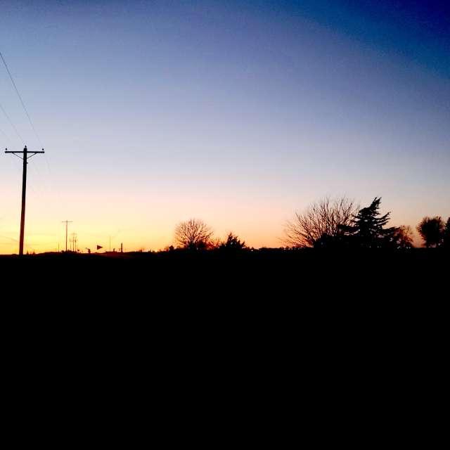 SE Iowa sunset