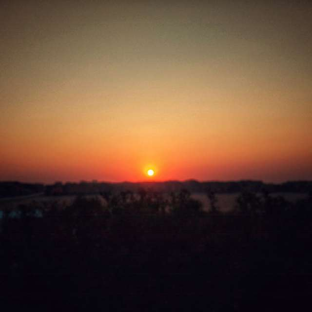 Sunrise Ames IA Rocket Hill