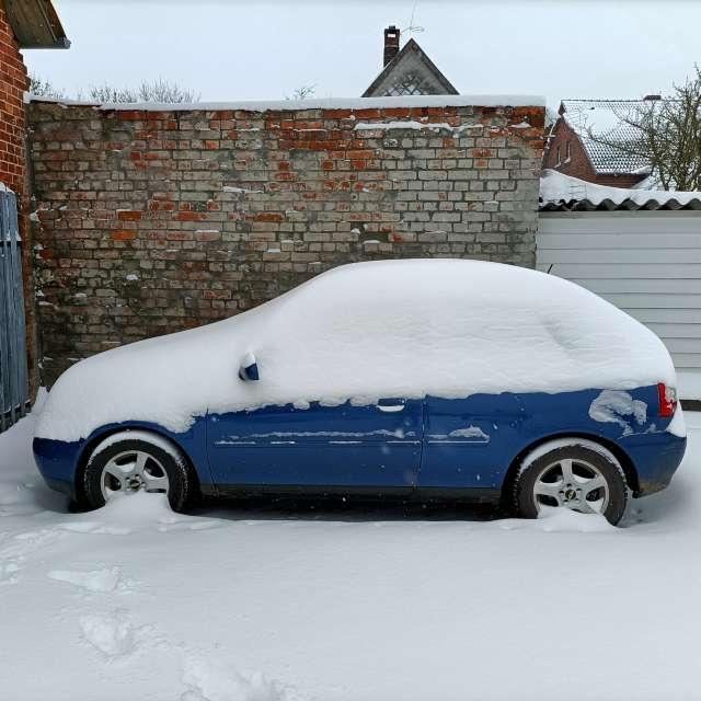 40 cm Schnee...🥶