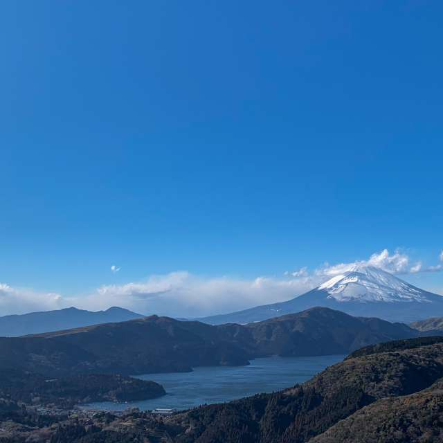 View of Mt.Fuji from Hakone
