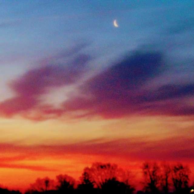 Moon at Sunrise