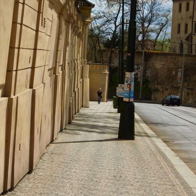 Prague pavement