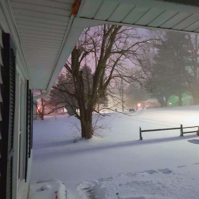 Iowa weather snow storm