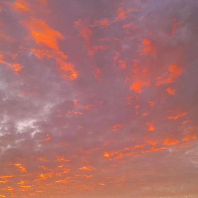 Wonderful textured clouds
