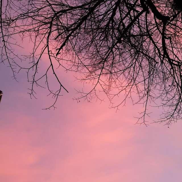 Sunset in Pécs