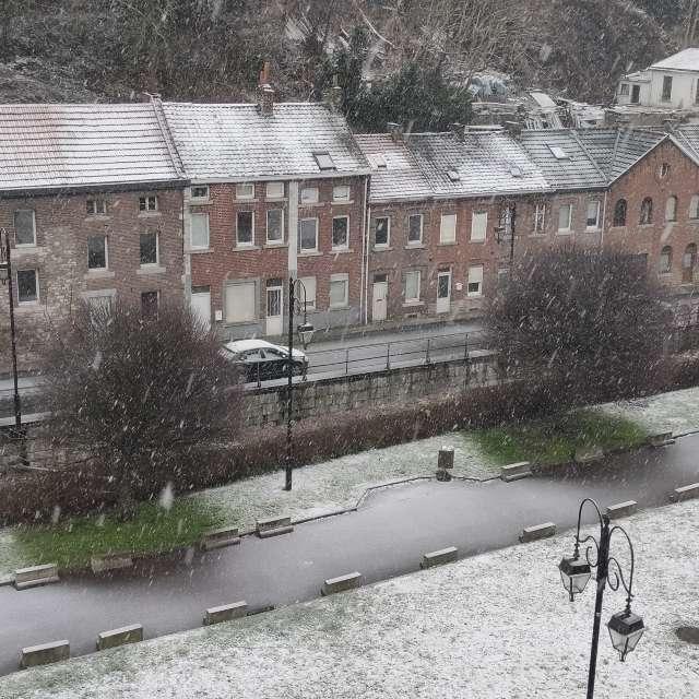 Neige à Huy