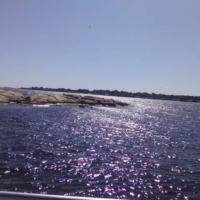 Sparkling Blue Waters