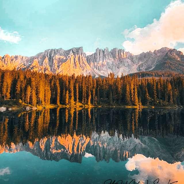 Lago di Carezza (BZ), Italia