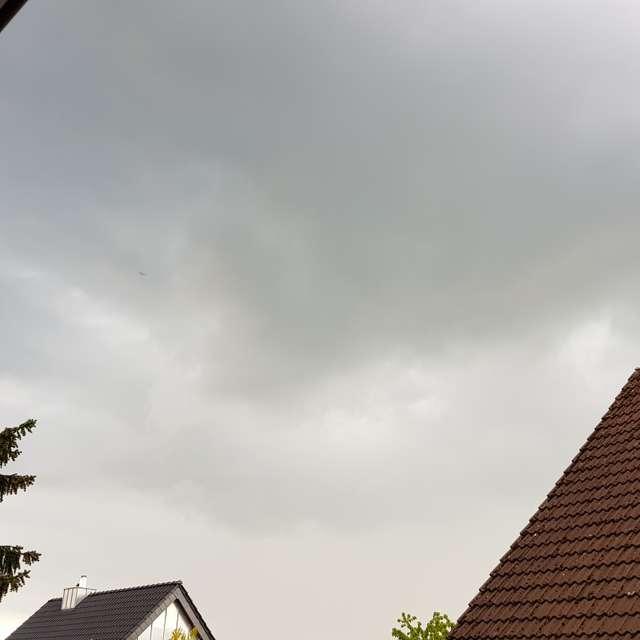 Gewitter über Mölln