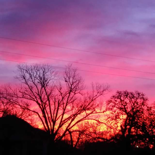 Texas morning sunrise