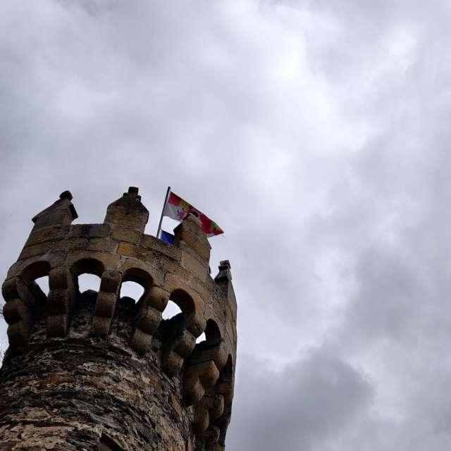 Torres entrada al Castillo.