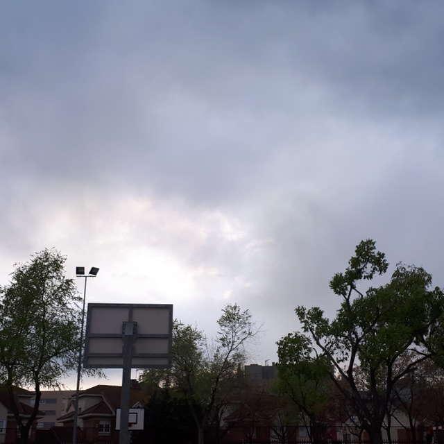 Nubes en Leganes