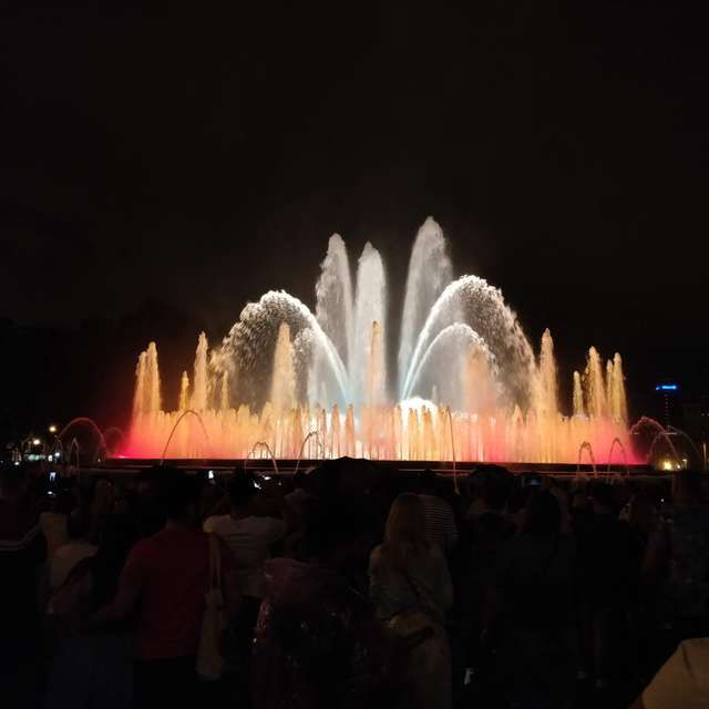 Water show barca