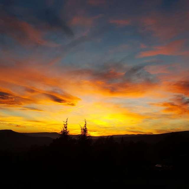 Fire sky ( Ciel de feu)