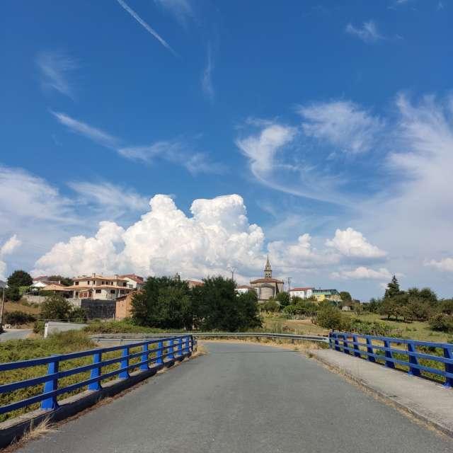 Nubes de tormenta de verano