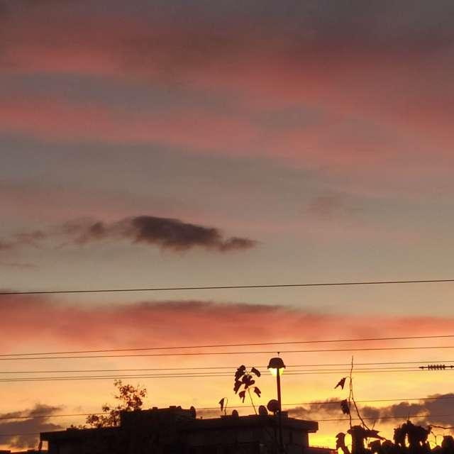 Nuages Lever du soleil matin