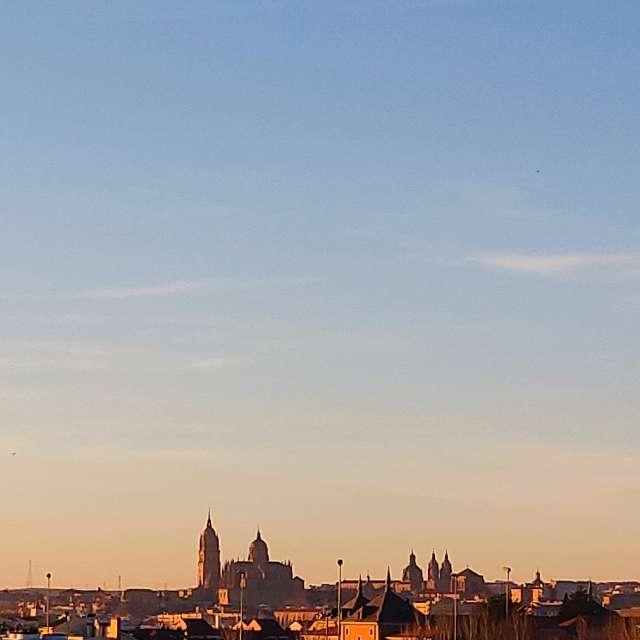Panorámica Catedral Salamanca.