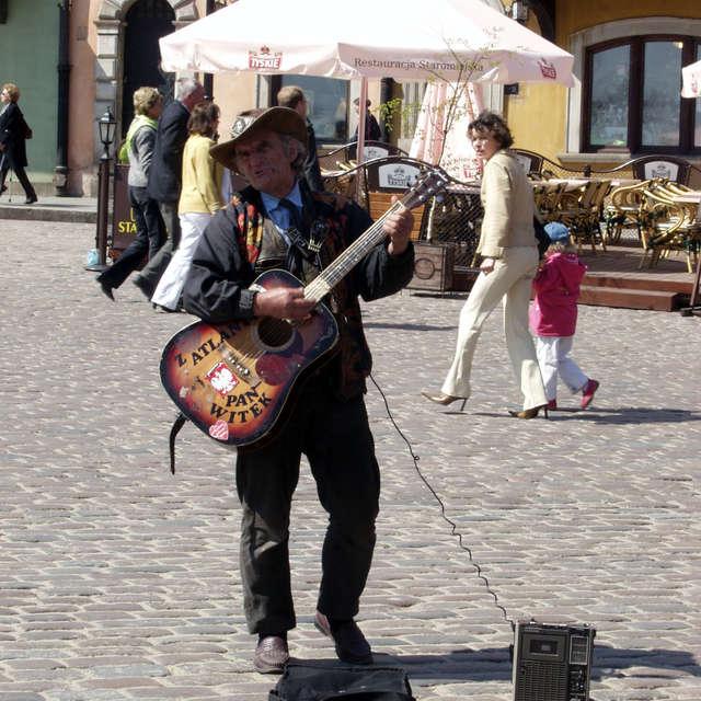 Street musician - Mr. Witek