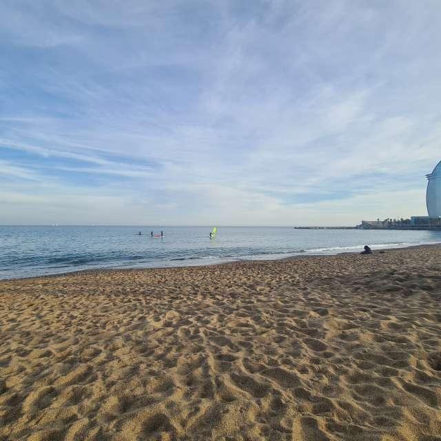 Barcelona sea
