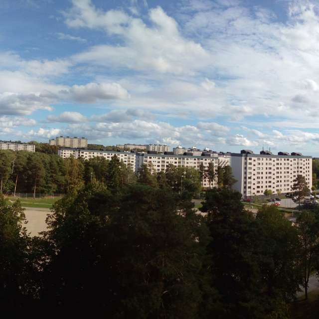 Stockholm suburbs.
