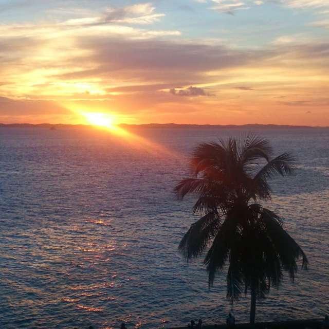 Sunset in Bahia Brazil