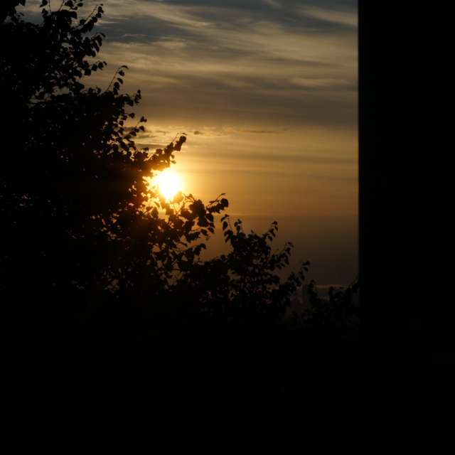 Sun incoming