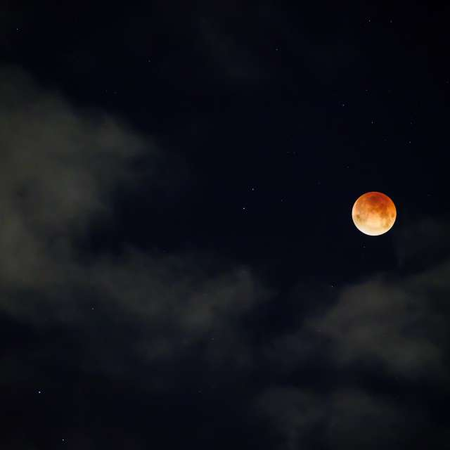 Lunar Eclipse, BC, Canada