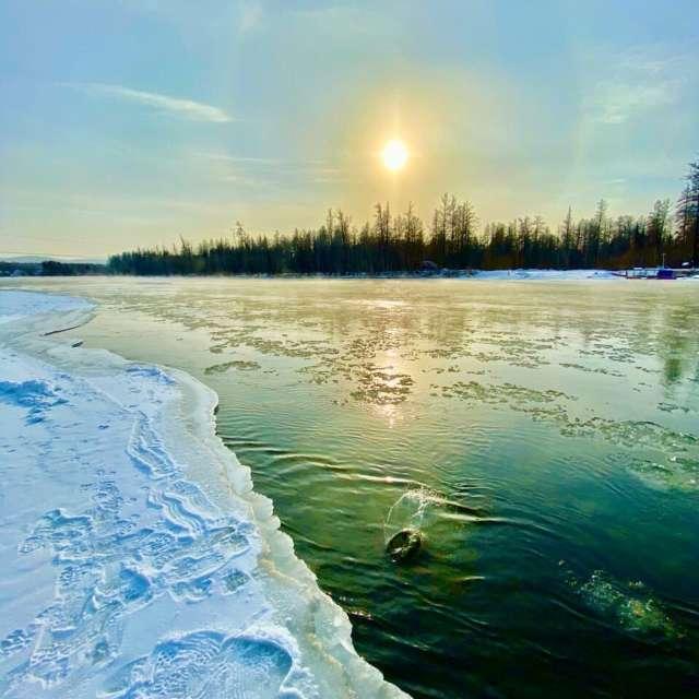 Река Енесей