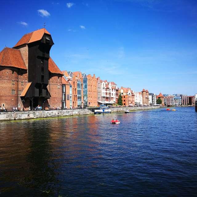 Gdańsk. Centrum miasta