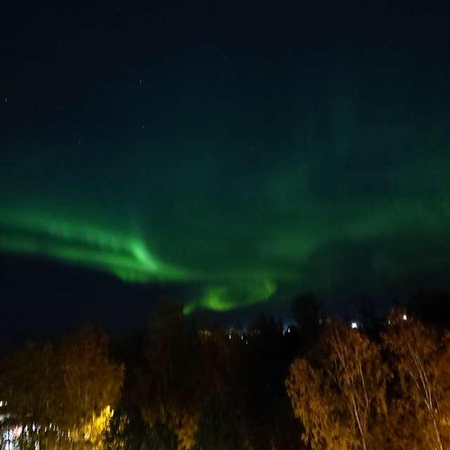 Northern lights @Tampere
