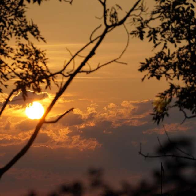 Sunset in Parukářka