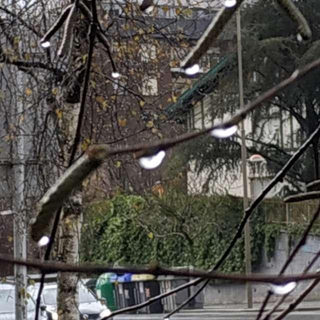 Lluvia en Begoña