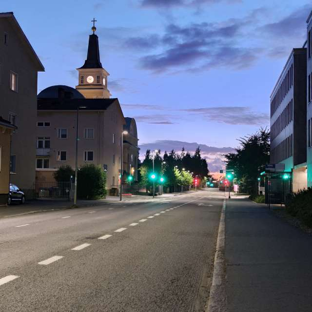 Oulu HDR and church