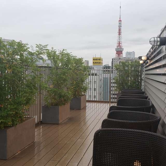 雨空と東京タワー