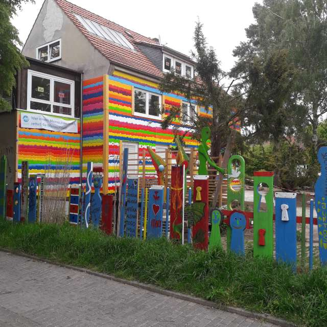 Coloured house ☆☆☆