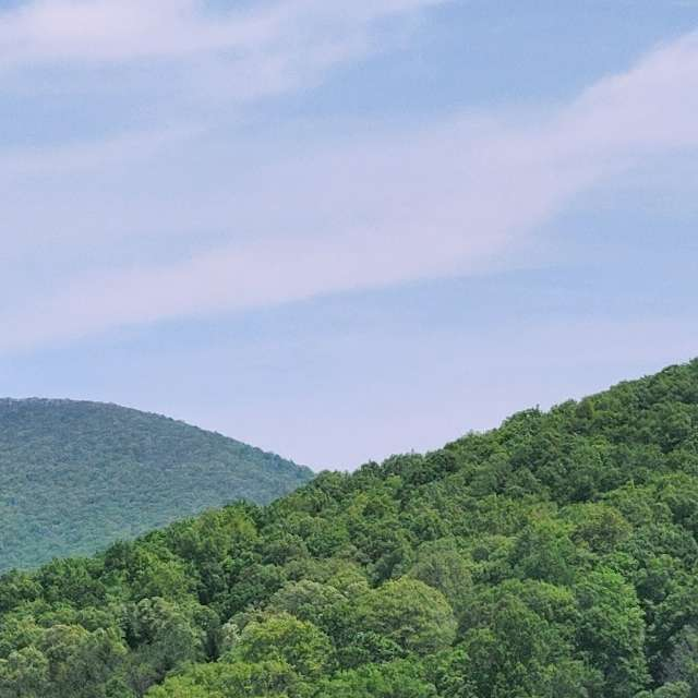 West Jefferson mountains in NC