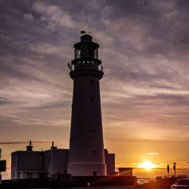 Sunrise Flamborough Lighthouse