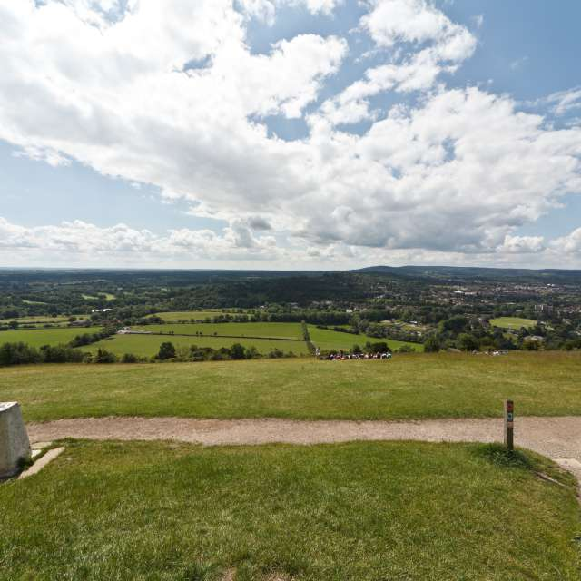 view from Box Hill Surrey