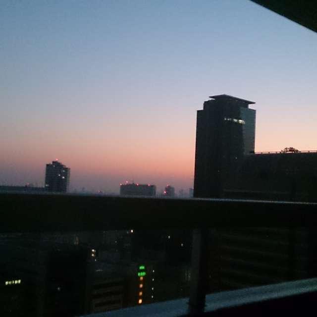 西新宿からの夕景